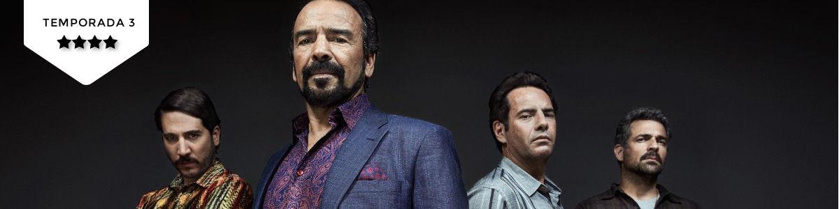 Narcos (T3): Os quatro cavalheiros deCali
