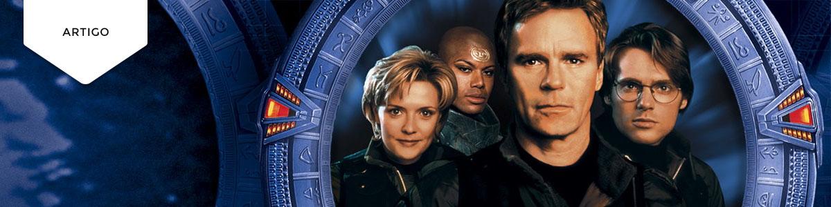 """15 episódios de """"Stargate SG-1"""" pararecordar"""