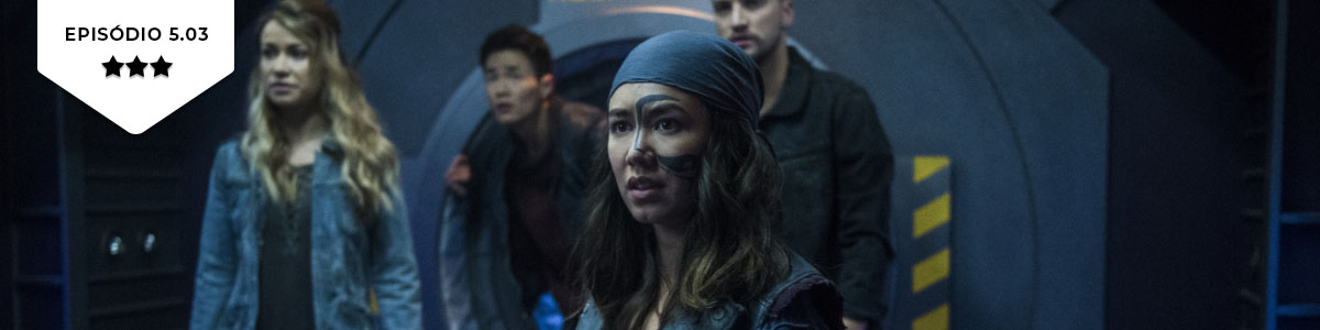 The 100: 5×03 – Sleeping Giants (The CW)