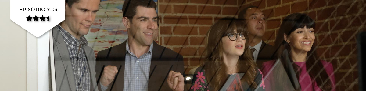 New Girl: 7×03 – Lilypads