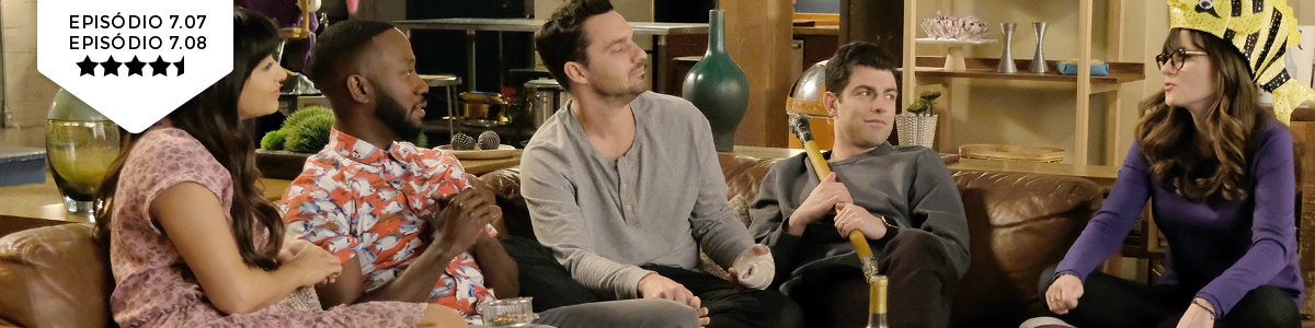 New Girl: 7x07x08 – The Curse of the Pirate Bride/EngramPattersky