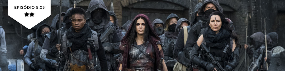 The 100: 5×05 – Shifting Sands (The CW)
