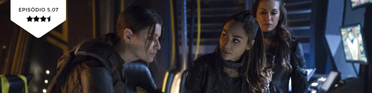 The 100: 5×07 – Acceptable Losses (The CW)