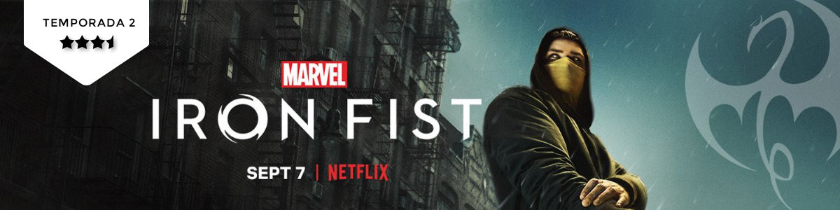 Iron Fist (T2): Secundários aopoder