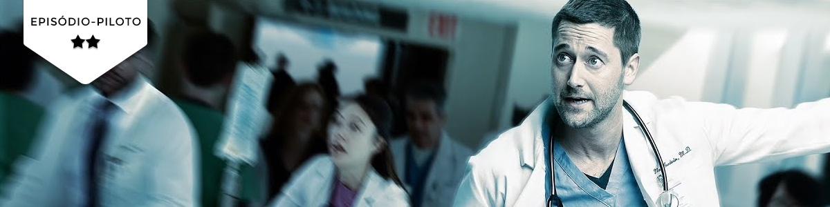 """Pilot Season: """"New Amsterdam"""" não desilude quanto a ser mais domesmo"""